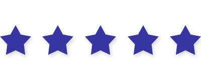 5 stars navy blue