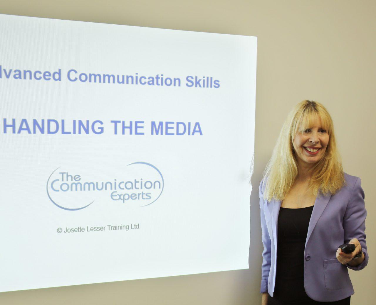 Handling the Media Communications Expert Director, Josette Lesser